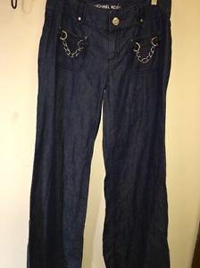 Women's Michael Kors Medium Wash Flare Leg Jeans Size 4