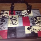 "Disney ""Patches Of Love"" Mickey And Minnie Artistic Tote Bag by Bradford Exchang"