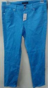 WHITE HOUSE BLACK MARKET BLANC sky blue Slim Ankle Jeans Size 8R