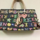 Dooney And Bourke Signature Logo Handbag