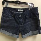 Ladies Size 5 Dark Wash Bullhead Jean Shorts