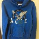 Men's Small Blue Hoodie America Eagle