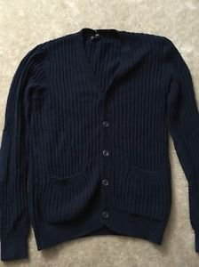 Men's Size Large Navy Blue Express Sweater