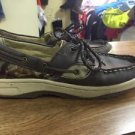 Realtree Outfitters Camo Boat Shoes 6.5