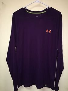 Men's Large Under Armour All Season Gear Fitted Shirt