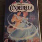 Walt Disney Masterpiece Collection Cinderella VHS Video Tape Vintage Rare #5265