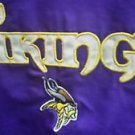 Womens NFL Vikings Reebok Purple Zip up jacket Coat size XL