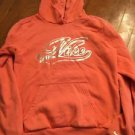 Women's Small Peach-Orange Nike Pullover Hoodie