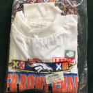 Super Bowl XXXii Denver Broncos Size Large New In Plastic