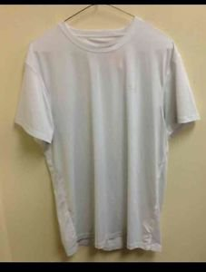Men's Large Under Armour White Short Sleeve Shirt