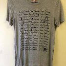 women's Medium Grey Juicy Couture Hi Lo T Shirt