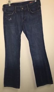 Citizens Of Humanity Jeans Size 27 Low Waist Boot Cut Kelly # 001
