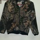 Youth browning camo zip up sweatshirt size medium