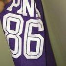 Victoria's Secret Pink Xs Purple Boyfriend Fit Sweatpants Tight Ankles