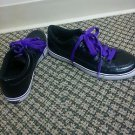 Womans K.Swiss size 8  black and purple sneakers