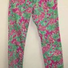 Lilly Pulitzer Spike the Punch Worth Straight Jean Sz 2 Pants