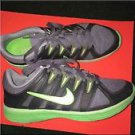 Nike Lunar Always TR Women's Running Shoes Sz US 8.5 Green Gray 487793-005