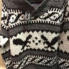 Men's XL American Eagle Shawl Collar Sweater Brown
