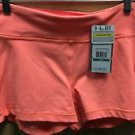 NWT $55 Women's Large Under Armour Shorts Bright Orange
