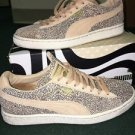 Women's 7 Puma Sneakers 35801701 Suede Classic Women's Lines Honey Peach Black