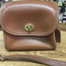 Auth COACH Shoulder Bag Brown 9018 Calf 108039