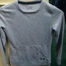 Girls youth medium Under Armour long sleeve grey sweatshirt