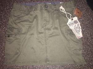 NWT Women's 2/26 Lucky Brand Standard Issue Uniform Supplier 06-KH1 Skirt