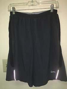 Mens Medium Black Nike Dri Fit Shorts Athletic /gym