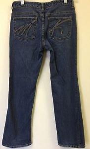 Women Size 4 Medium Wash Boot cut Michael Kors Jeans
