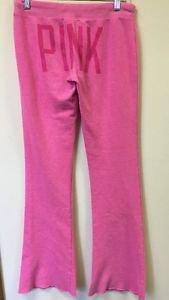 Xs Victoria's Secret Pink Love Pink Sweatpants