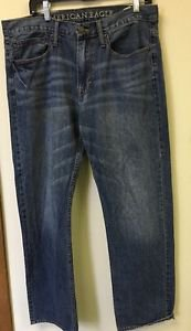 Men's Medium washed Relaxed Fit 34/34 American Eagle Jeans