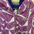 Under Armour Captivate Purple Full Zip Hoodie Jacket Coat Girls Youth Large