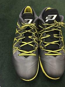 Nike Jordan CP3.VII AE Mens 644805-070 Grey Yellow Basketball Shoes Size 10.5