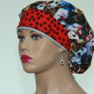 Bouffant Scrub Cap-Handmade-Surgical Scrub Cap-Medical Cap-Women's Hat-100% Cotton.