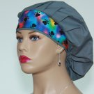 Surgical Bouffant Scrub Cap-Handmade-Nurse Cap-Medical Scrub Cap-Anesthetist Scrub Cap-100% Cotton.