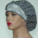 Bouffant Surgical Scrub Cap-Handmade-Anesthetist Scrub Cap-Veterinarian Cap-Women's Hat-100% Cotton.