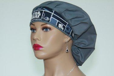 Bouffant Surgical Scrub Cap-Handmade-Medical Cap-Veterinarian Cap-Anesthetist Cap-100% Cotton.