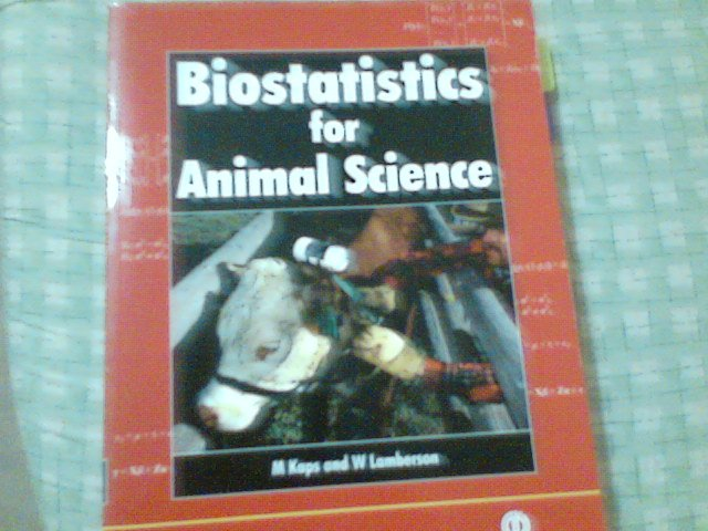 Biostatistics for Animal Science