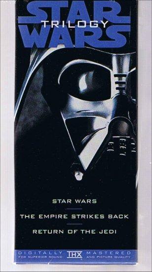 Star Wars Trilogy - Boxed VHS movie set