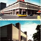 BL456. Postcards x 2. The Montreal Forum and Alexis Nihon Plaza. Quebec. Canada