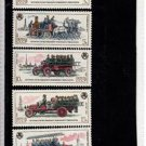 CE39. Russian Stamps x 5. Fire Engines. 1984. SG5510/14