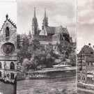 BZ158.Vintage Postcards x 6. Views of Basel.