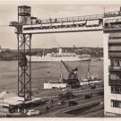 CL79.Vintage Postcard.Port and ships. Stockholm, Sweden.