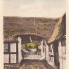 CL97.Vintage Postcard.Old Port at Femmoller. Aarhus, Denmark