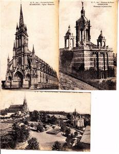 BZ035. Vintage Postcards X 3. Views of Bonsecours. France.