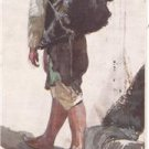 CP21. Vintage Tucks Postcard. The Holy Land. A Water Carrier.