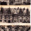 BZ116. Vintage Postcards X 3. Views of Rouen. France. Palais de Justice.