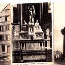 BZ085. Vintage Postcards X 3. Views of Rouen. France. Jeanne d'Arc