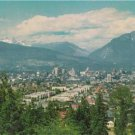 CR65. Postcard. Vancouver, Canada. View of the city from Little Mountain