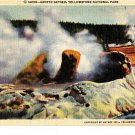 CQ32. Vintage US Postcard. Grotto Geyser, Yellowstone National Park